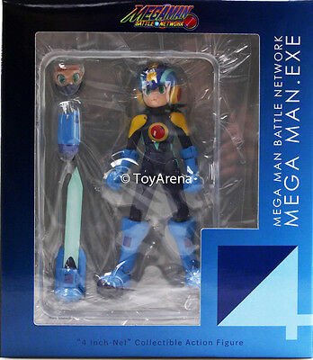 Sentinel Mega Man Exe (Rockman) Megaman 4inch-nel Action Figure USA IN STOCK