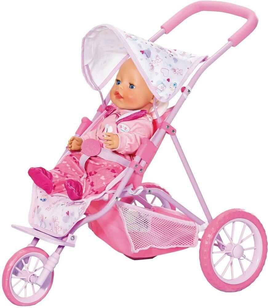 BABY born Tri Pushchair, Puppenwagen, Buggy, Puppenzubehör