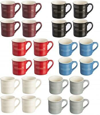 Mason Cash Set of 4 100ml Stoneware Espresso Coffee Cup Mug