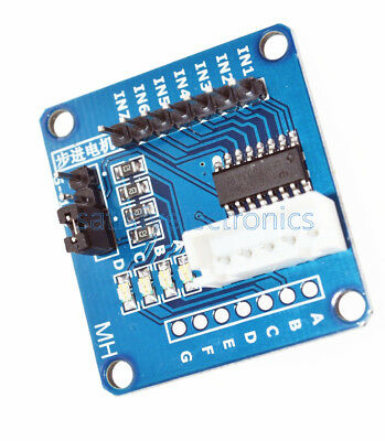 2 Pcs Uln2003 Stepper Motor Driver Bore Test Module Dc5v For Arduino Avr Smd
