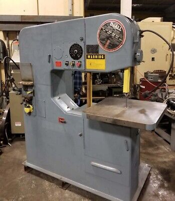 Doall Vertical Band Saw Variable Dc Speed Inv 42246