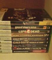 Used XBOX 360 games in good condition