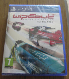 New Wipeout Omega Collection ps4