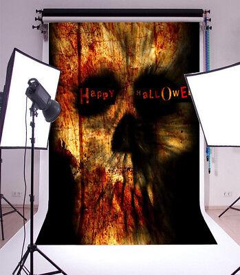 5x7ft Happy Halloween Scene Vinyl Props Background Photo Studio Backdrop Show](Happy Halloween Backgrounds Desktop)