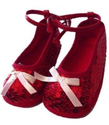 Ballerinaschuhe Rot Pailletten Baby Looney Tunes Ps 13430 (Roter Pailletten Mädchen Schuhe)