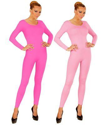 Damen Bodysuit Langarm Ballett Flamingo Disco Kostüm-Zubehör Overall - Damen Bodysuit Kostüme