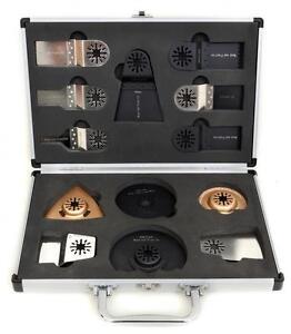 13pc Antler Blades Case Set Fein Multimaster Bosch Makita Oscillating Multitool
