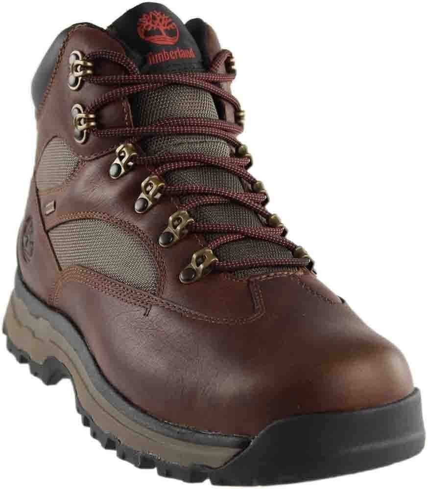 Men's Timberland Chocorua Trail 2.0 Waterproof Hiking Gore-Tex Boots Brown A1HSL
