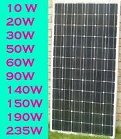 Solar Panel / microFIT DIY kit / Solar Generator / Solar Pump