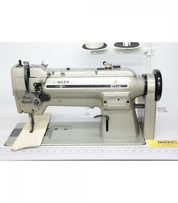 Singer 211U566A Walking Foot Needle Feed Industrial Sewing Machine