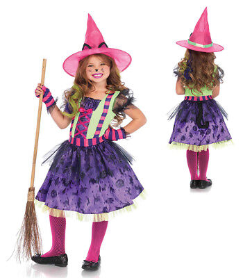Girls Black Cat Witch Halloween Costume](Halloween Cat Costumes For Girls)