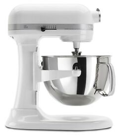 Large frosted pearl 600 kitchenaid mixer