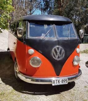 Groovy 1967 VW Split Window Kombi