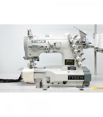 Tysew TY-1900C-64-1 Cylinder Arm Coverstitch Industrial Sewing Machine