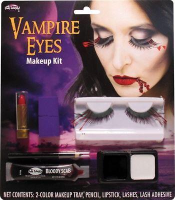 FUN WORLD HALLOWEEN VAMPIRE EYES MAKEUP KIT - BRAND - Halloween Eye Makeup Kits