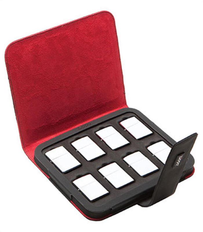 Zippo 8 Standard Lighter Collectors Case 142653 New