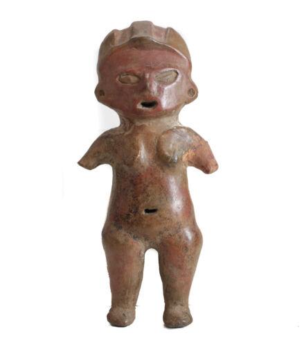 Pre-Columbian TLATILCO Standing Female FIGURE
