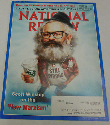 National Review Magazine Scott Winship On The New Marxism May 2014 071814R