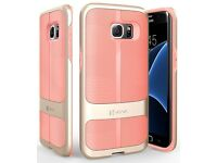 Samsung Galaxy S7 Edge Case, Pink ShockProof BRAND NEW and BOXED £5