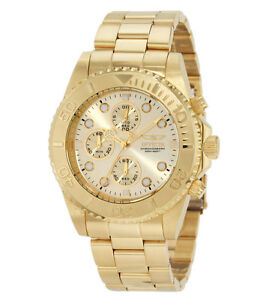 Invicta-1774-Mens-Pro-Diver-Gold-Tone-Stainless-Steel-Chronograph-Dive-Watch