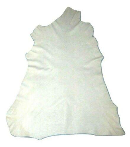 Super Thin Soft 1.5 oz Cream White Sheepskin Leather Hide Dollmaking Miniatures