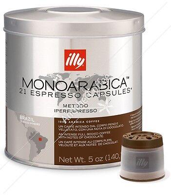 Illy IperEspresso Capsules - Brazil Carrado Mineiro (21 capsules)