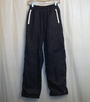 Vtg. Nike Lined Nylon Track Pants Women's Medium M(8-10) Blue