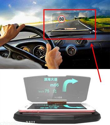 Car SUV GPS Navigation Holder HUD Head Up Display Projector Mobile Phone Bracket