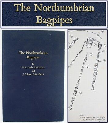 1967*NORTHUMBRIAN BAGPIPES*SMALLPIPES*ENGLISH MUSICAL INSTRUMENT CONSTRUCTION*1*
