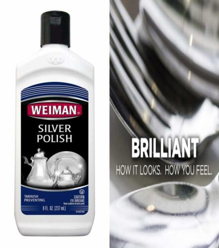 Weiman Silver Polish and Cleaner - 8 Ounce - Clean Shine Saf