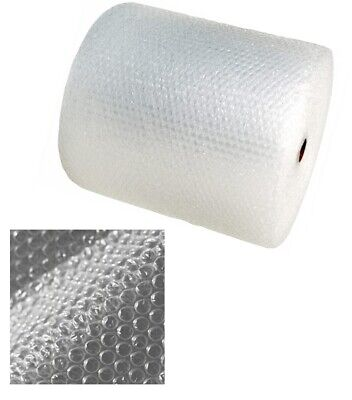 500MM x 100M Small Bubble Wrap Roll Ideal For Packaging Storage Removal Wrap