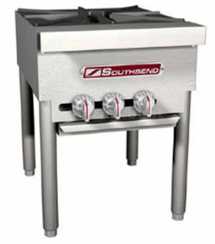 "Southbend Spr-1j 18"" Gas Stock Pot Range Manual W/ 1 Burner Three-ring"