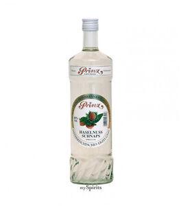 PRINZ Haselnuss-Schnaps 40 % vol. 1 Liter Flasche - Das nussige Original!