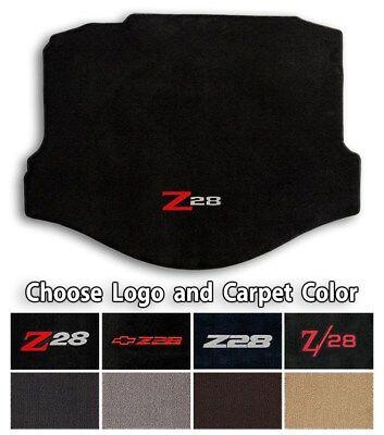 (Chevrolet Camaro Z28 - Classic Loop Carpet Trunk Mat - Choice of Color & Logo)