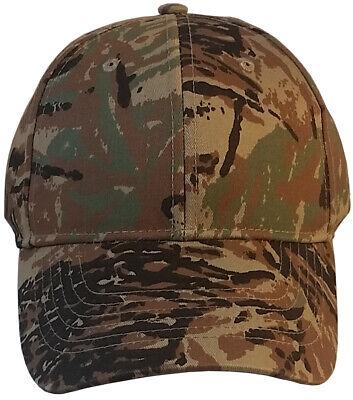Erb Camo Baseball Cap Style Bump Cap Hard Insert Lightweight Ding Protection