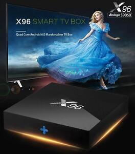 Android iPTV Smart Box X96 Amlogic Quad-Core 1000s of Channels