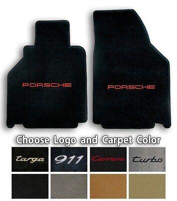 Lloyd Ultimats Carpet Front Floor Mats for 1998-2000 Porsche 911 996 Carrera