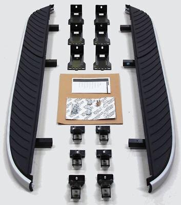 For 08-14 Land Rover LR2 Freelander-2 Aluminum Running Boards Side Steps Pair