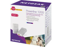 Netgear Powerline 1200 (PLP 1200) Brand New