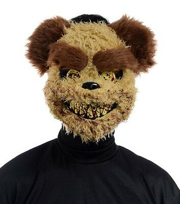 Richard Scary Evil Killer Teddy Bear Halloween Fancy Dress Mask Accessory P9337 (Evil Teddy Bear Halloween)