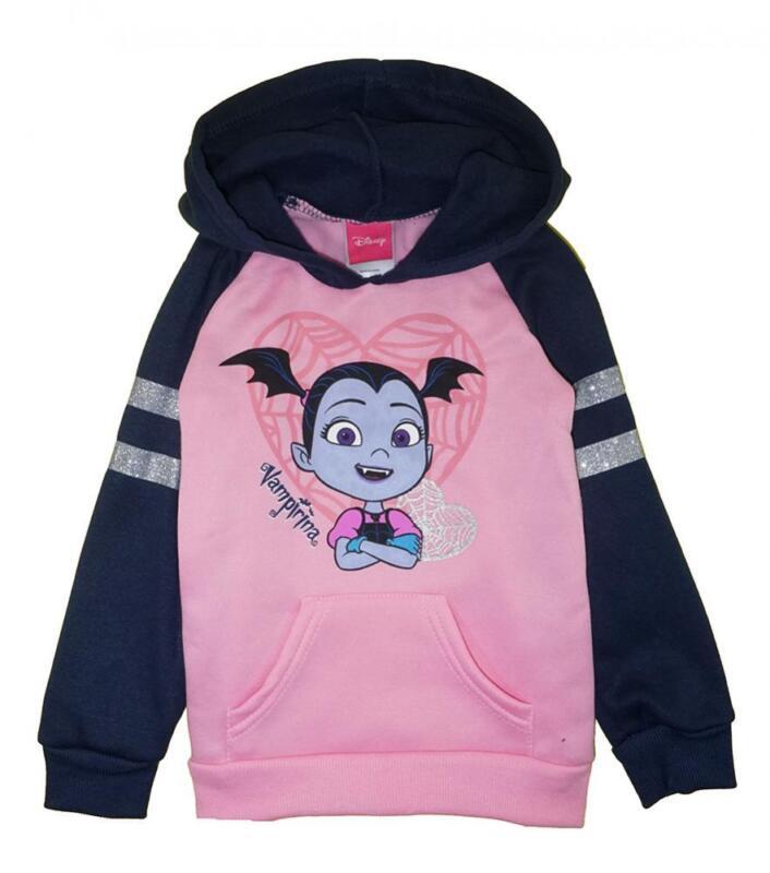 Vampirina Girls Fleece Pull-Over Hoodie Size 2T 3T 4T 4 5 6 6X
