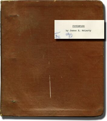 Don Henderson TOUCH OF SATAN PITCHFORK Original screenplay for the 1971 #135515