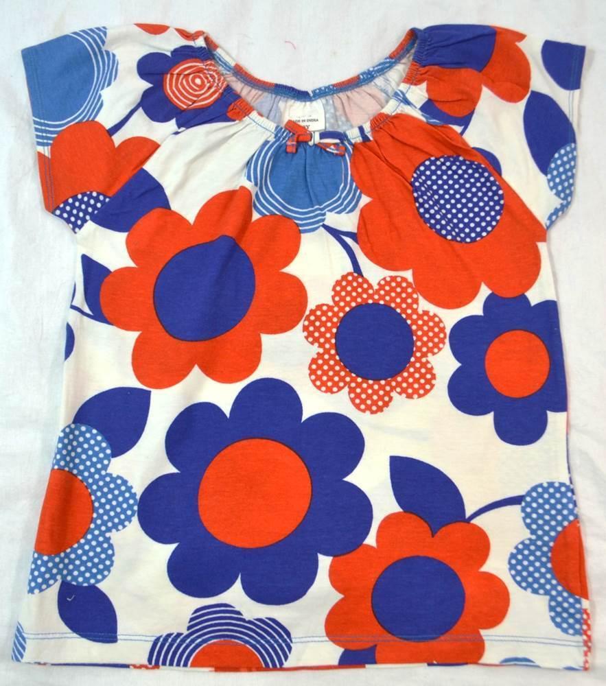 Mini boden girls cotton short sleeve 39 pretty 39 top t shirt for Mini boden schweiz