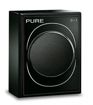 Pure S-1 Speaker Black Gloss Auxiliary Speaker For Evoke Flow
