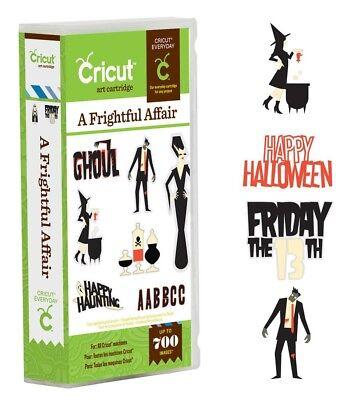 Halloween-scrapbook (Cricut Cartridge - A Frightful Affair - Halloween Scrapbook Layouts, Party Decor)