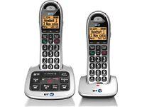 BT 4500 Cordless Big Button Phone+Answer Machine and Nuisance Call Blocker