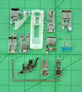 PRESSER FEET attachments SET* KENMORE SUPER HIGH SHANK cl 385, 158 listed models