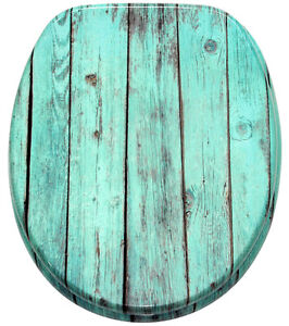 klobrille toilettensitz toilettenbrille wc brille deckel sitze blau lumber ebay. Black Bedroom Furniture Sets. Home Design Ideas