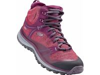 BNIB Ladies Terradora Walking / hiking / trail shoes / outdoor boots by Keen size 6.5 / 7 / 7.5 / 8