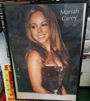 Mariah Carey Poster New 1998 Rare Vintage Collectible Oop